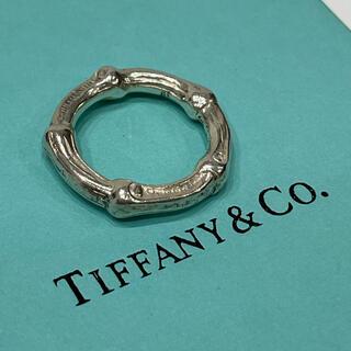 Tiffany & Co. - 希少!!美品!!【ティファニー バンブー リング 7号】