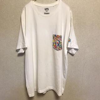 UNIQLO - 希少名作】ドラえもん × 村上隆 × ユニクロ カイカイキキ UT 白 Tシャツ