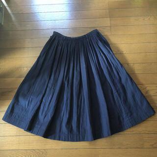 45rpm - 美品★45R★ギャザースカート★プリーツ ガーゼ★45rpm  umii908