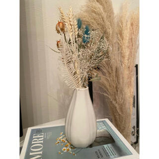 白 花瓶 フラワーベース おしゃれ  北欧 イケア アクタス ザラホーム