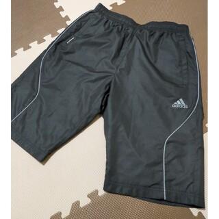 アディダス(adidas)の☆adidas アディダス ハーフパンツ ブラック サイズL(ショートパンツ)