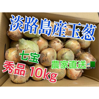 新玉ねぎ【淡路島産玉葱】品種 七宝 10kg 秀品