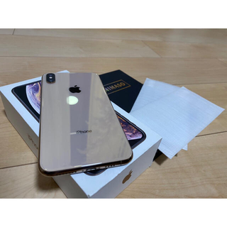 iPhone - 美品 iPhone XS Max 256GB SIMフリー アップルストア購入