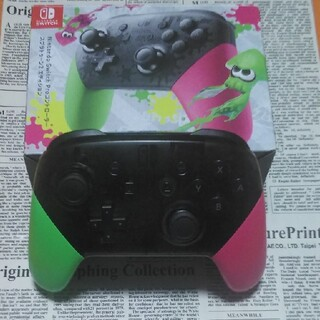 Nintendo Switch - 任天堂Switchスプラトゥーンプロコン
