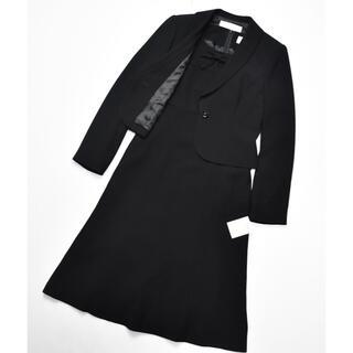 ソワール(SOIR)のSOIR BENIR 東京ソワール 新品 ブラックフォーマル ワンピース 7号(礼服/喪服)