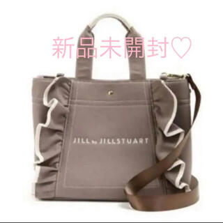 JILL by JILLSTUART - 正規品 完売品 入手困難 ジルバイジルスチュアート  フリルトートバッグ(大)