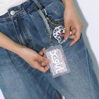 エックスガール(X-girl)のエックスガール パスケース 定期入れ(名刺入れ/定期入れ)