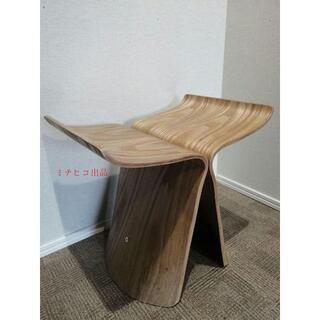 蝶椅子曲木のスツール木製の椅子(ローテーブル)