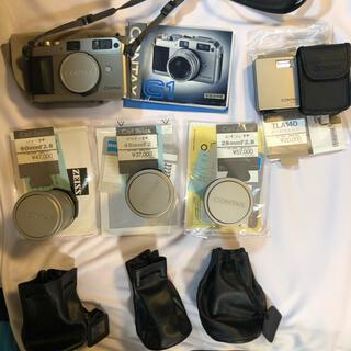 京セラ - CONTAX G1 セット 美品 フィルムカメラ 値下げしました