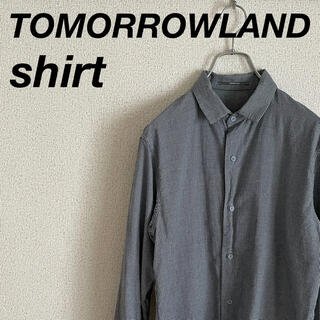 TOMORROWLAND - トゥモローランド ガーゼ素材 チェックシャツ