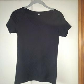 ユニクロ(UNIQLO)のティーシャツ 黒 ユニクロ(Tシャツ(半袖/袖なし))