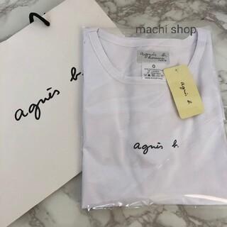 agnes b. - 新品 アニエスベー Tシャツ ホワイト 男女兼用 S