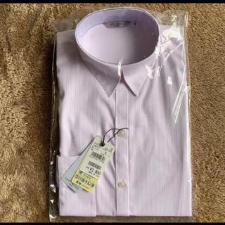 アオキ(AOKI)のAOKI  青山 ストライプ ワイシャツ(シャツ/ブラウス(長袖/七分))