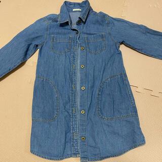 ジーユー(GU)の女の子 120  デニム服(ジャケット/上着)