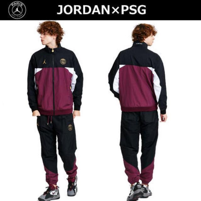 NIKE(ナイキ)のNIKE JORDAN×PSGパリサンジェルマンANTHEMジャケット上下セット スポーツ/アウトドアのスポーツ/アウトドア その他(バスケットボール)の商品写真