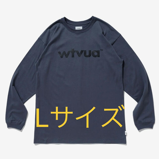 W)taps - WTAPS WTVUA L/S TEE ロンT チャコール Lサイズ