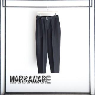 MARKAWEAR - markaware 18ss スラックス パンツ トラウザー marka