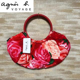 agnes b. - 【agnes b.VOYAGE】アニエスベーボヤージュ 花柄 ハンドバッグ