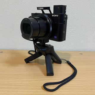 ソニー(SONY)の美品★SONY RX100M5 + VCT-SGR1★(コンパクトデジタルカメラ)