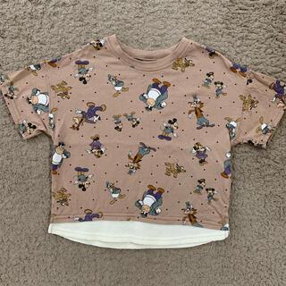 futafuta - バースデイ レトロミッキー Tシャツ 100