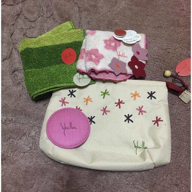 Sybilla(シビラ)のシビラ 化粧ポーチ ハンカチ レディースのファッション小物(ポーチ)の商品写真