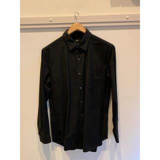 UNIQLO - UNIQLO ユニクロ スリムフィットシャツ ブラック 【L】