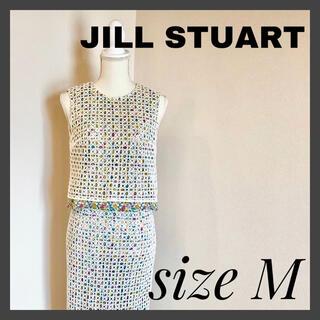 JILLSTUART - JILLSTUART ジルスチュアート レース フラワー セットアップ Mサイズ