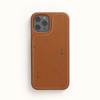 レア✨最新作✨HERMES iPhone12ケース ボルデュック レザーケース