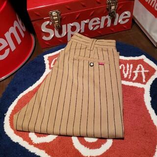 Supreme - supreme work pant Brown Stripe 30