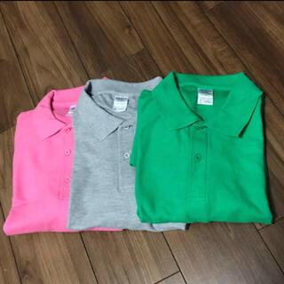ギルタン(GILDAN)の新品 半袖 ポロシャツ ビックシルエット ギルダン XL/XXL  3枚 (ポロシャツ)