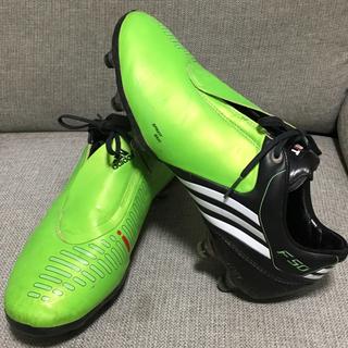 アディダス(adidas)の美品 トップモデル アディダス サッカースパイク シューズ F50(シューズ)