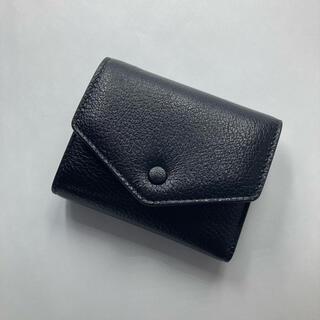 Maison Martin Margiela - メゾンマルジェラ 三つ折り財布 エンベロープウォレット ブラック レザー