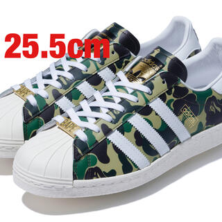 "A BATHING APE - adidas × BAPE SUPERSTAR 80'S""Green Camo"""