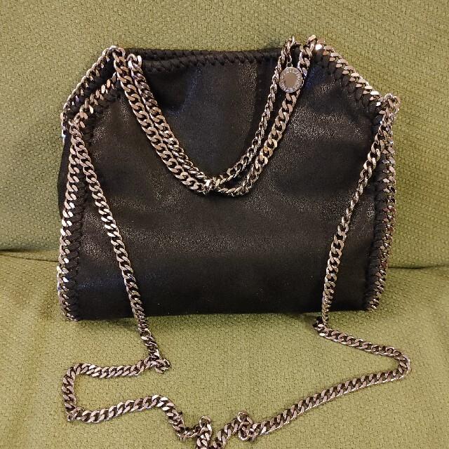 Stella McCartney(ステラマッカートニー)のStella McCartney ファラベラ ショルダーバッグ ミニ 黒 レディースのバッグ(ショルダーバッグ)の商品写真