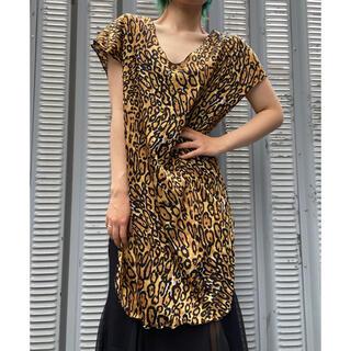 Lochie - Vintage Tunic Leopard One−Piece