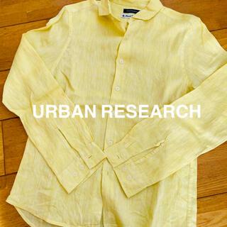 アーバンリサーチ(URBAN RESEARCH)のアーバンリサーチ メンズ フレンチリネンシャツ 38(シャツ)