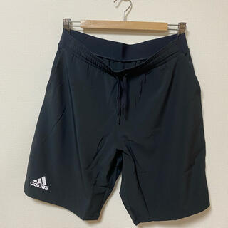 アディダス(adidas)の新品 アディダス ハーフパンツ ブラック Oサイズ(ウォーキング)