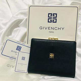 GIVENCHY - 未使用箱付 ジバンシィ がま口財布