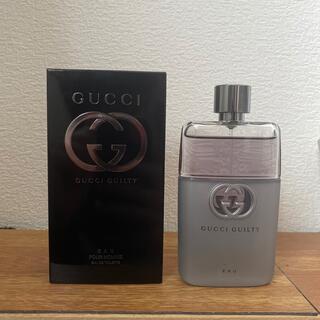 グッチ(Gucci)のGUCCHI GUILTY EAU (グッチ ギルティー オー)90ml(香水(男性用))