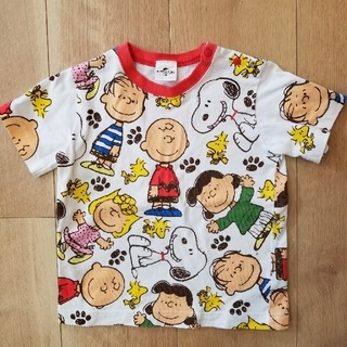 SNOOPY - 【スヌーピー】半袖Tシャツ90cm