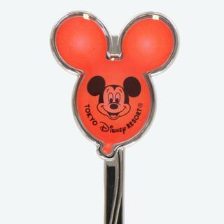 Disney - 【赤のみ】ディズニー バルーン スプーン&フォークセット カトラリー
