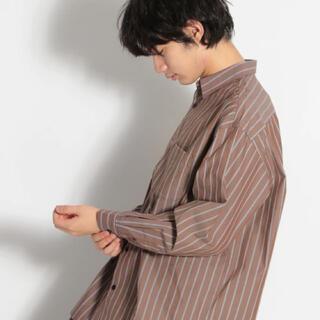 ニコアンド(niko and...)のnico and... ワイドストライプシャツ(シャツ)