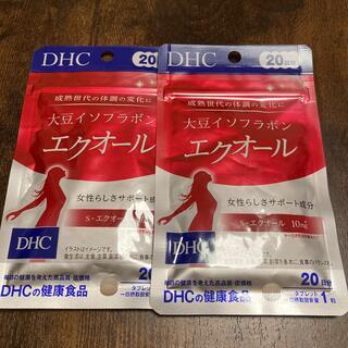 DHC - 新品未開封  DHC  大豆イソフラボン  エクオール  20日分 2袋セット