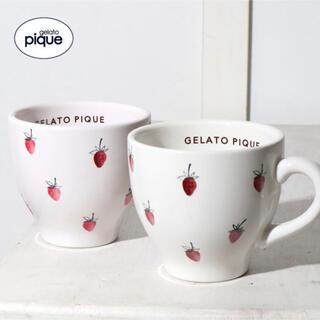 gelato pique - gelato pique ストロベリーマグカップ オフホワイト ジェラートピケ