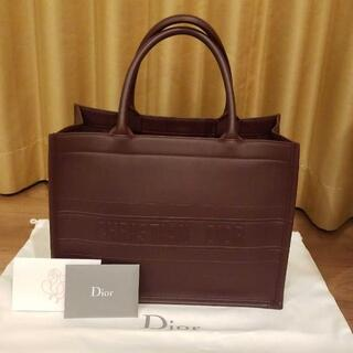 Christian Dior - Dior レザーブックトート スモール