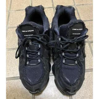 コムデギャルソンオムプリュス(COMME des GARCONS HOMME PLUS)のCOMME des GARÇONS × Nike shox 付属品なし(スニーカー)
