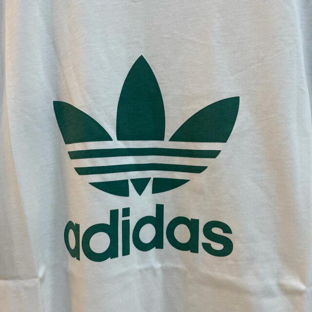 adidas(アディダス)の★新品★アディダスオリジナルス スタンスミスカラー 白 緑 メンズのトップス(Tシャツ/カットソー(半袖/袖なし))の商品写真