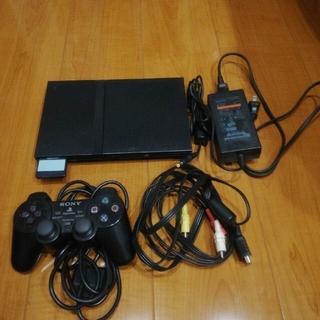 プレイステーション2(PlayStation2)のプレステ2 本体 ゲームセット(家庭用ゲーム機本体)