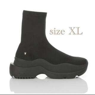 Yellow boots - シングル スニーカーブーツ size XL