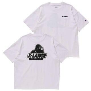 エクストララージ(XLARGE)のXLARGE X CHAMPION POCKET SS TEE  Tシャツ (Tシャツ(半袖/袖なし))